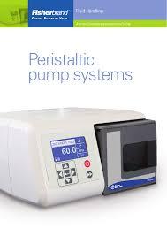 Peristaltic Pump Tubing Size Chart Peristaltic Pump Systems Manualzz Com