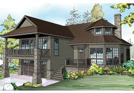 house plans with wrap around porch and walkout basement new house plans walkout basement wrap around