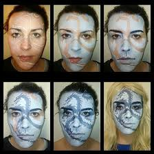 game of thrones make up artist turns herself into characters from tv show with wicked warpaint