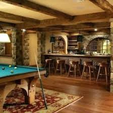 Decoration Rustic Basement Ideas
