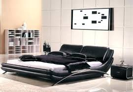 leather bedroom set modern leather bedroom furniture sets queen size storage bed frame modern black leather
