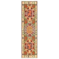 green background vintage swedish scandinavian runner rug by nazmiyal rugs rugs designer rugs
