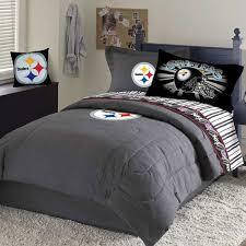 nfl comforters sets steelers team black denim full size comforter sheet set 19