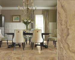 dining room tile flooring. gorgeous ceramic tile floors never go out of style. (pictured: shaw floor\u0027s valhalla dining room flooring