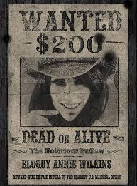 14 Old Wanted Poster Templates Free Printable Sample