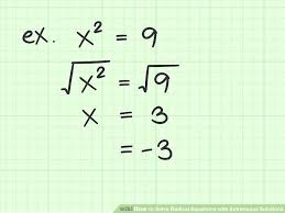 solving radical equation math image titled solve radical equations with extraneous solutions step 7 solving radical equations graphing calculator