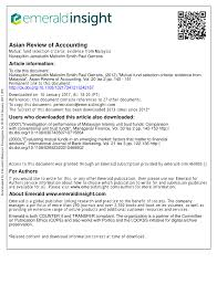 mutual fund accounting pdf mutual fund selection criteria evidence from malaysia