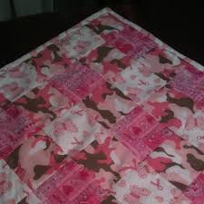 70 best Breast Cancer Quilts images on Pinterest | Ribbon quilt ... & Pink camo breast cancer quilt- for sale on eBay- already sold! I can Adamdwight.com