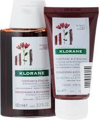 Набор Klorane с экстрактом Хинина Шампунь <b>укрепляющий</b>, 100 ...
