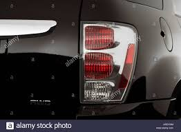 2006 Chevrolet Equinox LT in Black - Tail light Stock Photo ...