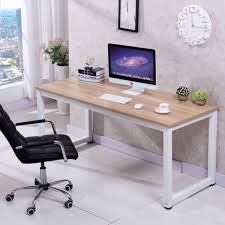 home office work desk. Delighful Work CHEFJOY Computer Desk PC Laptop Table Wood WorkStation Study Home Office  White Throughout Work I