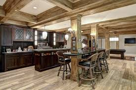 basement kitchen designs. Rustic Finished Basement Ideas Amazing Kitchen Designs