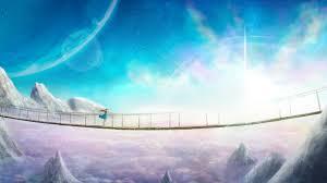 Wallpaper 4k Supernova Anime Landscape ...