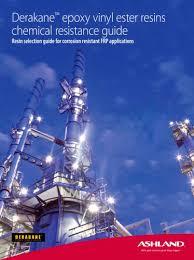 Derakane Chemical Resistance Guide Ashland Composite