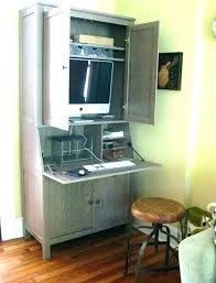 hideaway office furniture. Hideaway Computer Desk Office Furniture  Workstation Inspiring Desks With .