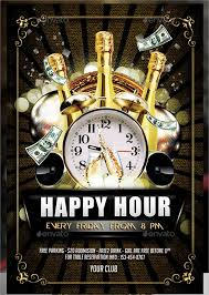 Happy Hour Flyer 15 Happy Hour Flyers Psd Word Ai Eps Vector Free