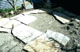 how to lay flagstone dry laid flagstone patio how to lay flagstone laying flagstones to build how to lay flagstone