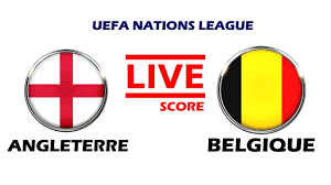 🔴LIVE - ENGLAND VS BELGIUM - UEFA NATIONS LEAGUE - LIVE SCORE - YouTube