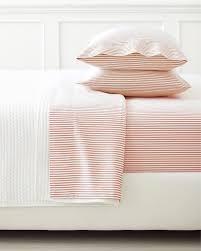 ticking stripe sheet set barn red