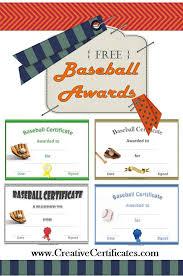 Free Softball Award Certificate Templates