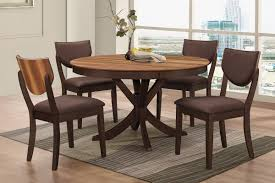 circular dining table and 6 chairs