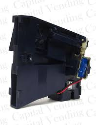 Genesis Vending Machine Parts Awesome Genesis Combo Vending Blue Coin Acceptor Go 48 48 48 EBay