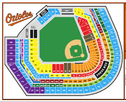 Opac Seating Chart Oriole Park At Camden Yards Best Seats In The House The