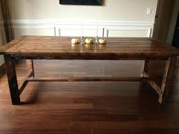 Build Dining Room Table Simple Inspiration Design