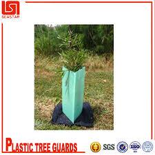 corrugated plastic tree shelter