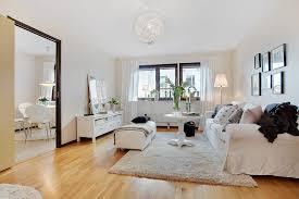 Scandinavian interiors, pink and white Swedish apartment,Scandinavian design
