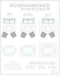 standard rug sizes uk standard
