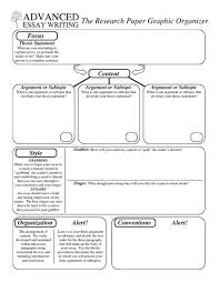 advanced essay writing the research paper graphic organizer  advanced essay writing the research paper graphic organizer com melisataylor middle high classes homeschooling writing