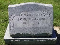 Bryan Whisenhunt (1918-1996) - Find A Grave Memorial