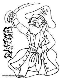 Pirate Coloring Pages - GetColoringPages.com