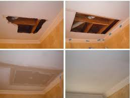 wall and ceiling drywall repairs
