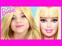 be as glamorous as barbie for emma shows you how to get the perfect barbie doll look foll
