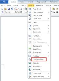 Office Word Format How To Merge Word 2010 Document