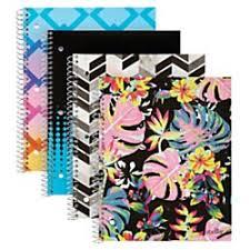 Amazon Com Office Depot Brand Fashion Stellar Poly Notebook 8in