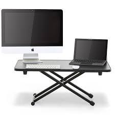 amusing home computer. Amusing Adjustable Computer Keyboard Stand With Standing Desk Height Sit To Monitor Desktop Apply Your Home Improvement K