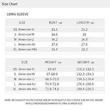 Tesla Compression Shirt Size Chart