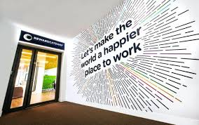 creative office walls. Medium Image For Wall Graphic Designs Doubtful Wonderful Design Office Branding Httpswww 9 Creative Walls I