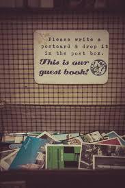 best 25 postcard guestbook ideas on pinterest diy guest books Zoo Wedding Guest Book swinging sixties sunshine wedding kara & gary postcard guestbookguestbook Elegant Wedding Guest Books