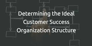 Determining The Ideal Customer Success Organization Structure