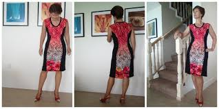 How To Make A Dress Pattern Stunning Color Block Dress Pattern POTM So Sew Easy