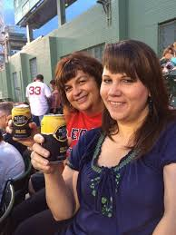 """Selena Fraser on Twitter: """"June and I toasting Mike Trout's butt ..."""