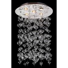 starfire crystal bubble glass collection light flush mount astonishingr parts lighting