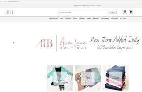 Application for Ava Lane Boutique