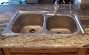 a topmount sink is one that installed on top of a countertop portion the sink called lip overlaps countertop to provide covered edge kitchen sinks for granite countertops n27 sinks