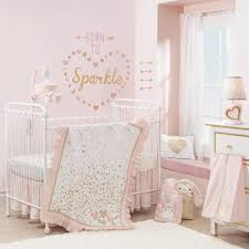 lambs ivy confetti 4 piece crib bedding set