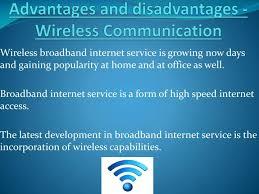 Essay On Wireless Communication Essay On Advantages And Disadvantages Of Wireless Communication